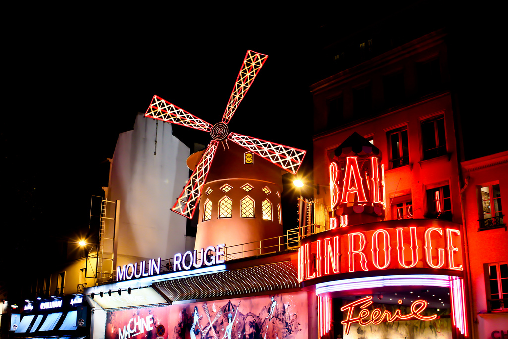 Visit the Moulin Rouge